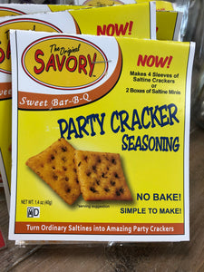 Savory Party Cracker Sweet Bar B Q