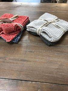 Cotton Knit Dish Towels