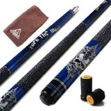 "CUESOUL ROCKIN Series 57"" 21oz Maple Pool Cue Stick Joint/Shaft Protector and Cue Towel(4 colors)"