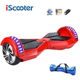 IScooter hoverboard 8in Bluetooth 2 Wheel Self balancing Electric Scooter Smart Wheel/w Remote key & LED