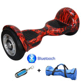 UL2272  Two Wheel Smart Balance Electric Hoverboard 10 inch Skateboard Motorized
