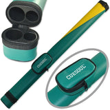 CUESOUL Two Tone Pool Cue Tube Case 1 Butt 1 Shaft Billiard Cue Canister Pool Cue Case