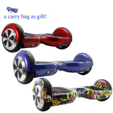 6.5 Inch Hoverboard self balance scooter With Carry Bag Free shipping