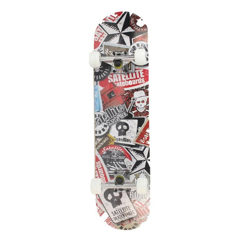 Maple Wood Four Wheel Professional skateboard longboard drift ABEC-7 chrome steel bearings 5 color