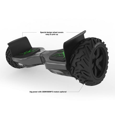 Koowheel Hoverboard 8.5 Inch 1000W  Cross Country Wheels Balance Board Scooter Electric