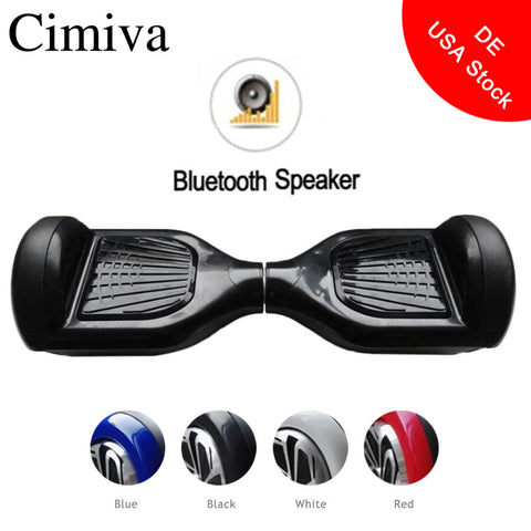 Cimiva 6.5 inch Hoverboard Self Balancing Electric Power Scooter Geroscope Two Wheels Skateboard with Bluetooth Speaker