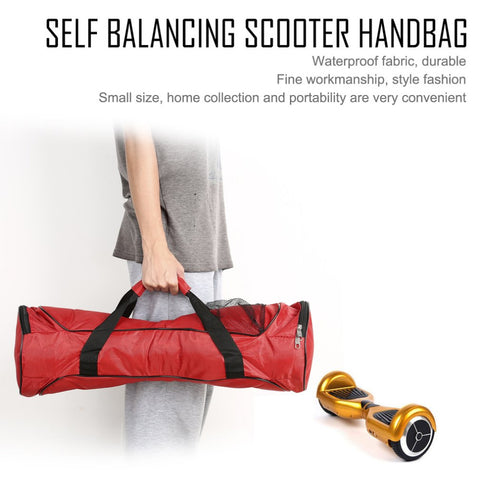 Portable Carrying Bag for 2 Wheels Self Balancing Electric Scooter Skateboard Hoverboard