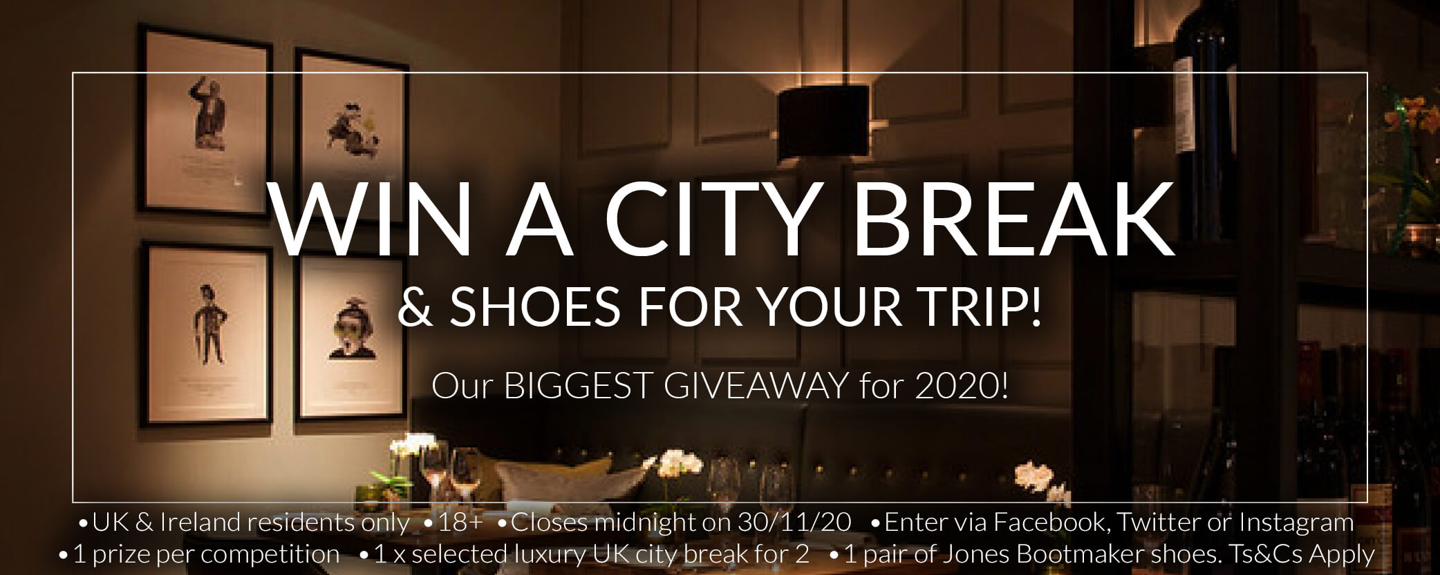 WIN a Luxury City Break!