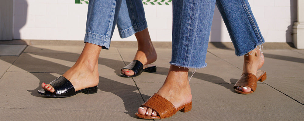 Summer Sandals Styled 6 Ways with Belle & Bunty