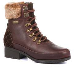 Barbour Riva Boots in Tan
