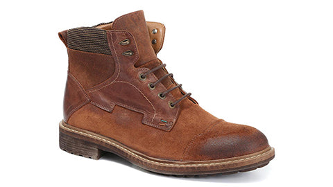 Leather Hiker Boots