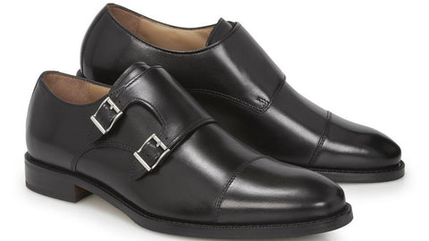 Leather Monk Shoe