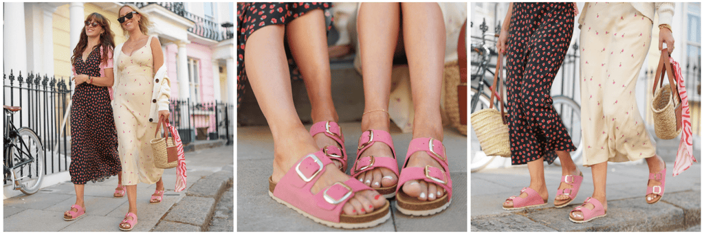 Ember Pink Sandals for Women
