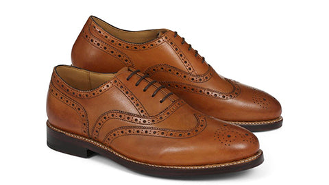 Harry Leather Brogues