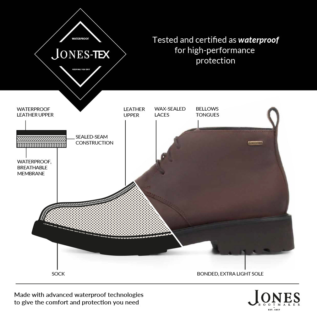 Jonex-Tex by Jones Bootmaker