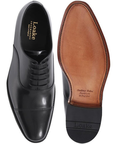 Smith Leather Oxford by Loake