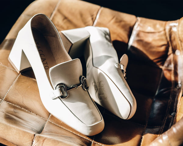 White Loafers Womens