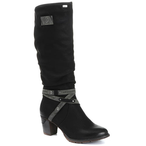 SLOUCH FIT KNEE HIGH BOOT