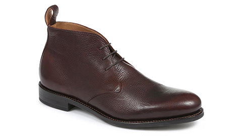 Wilton Brown Leather Chukka Boot
