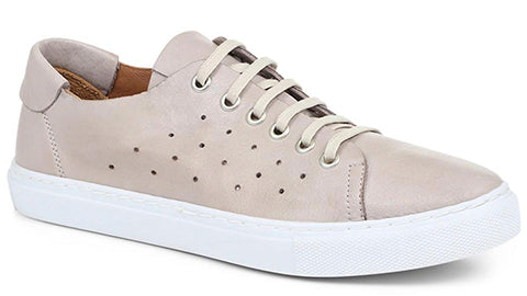 Nude Leather Trainer
