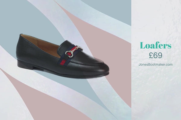 sanxi30501 - Black Leather Loafers