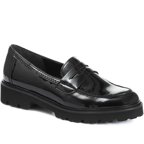 Simone Patent Penny Loafer
