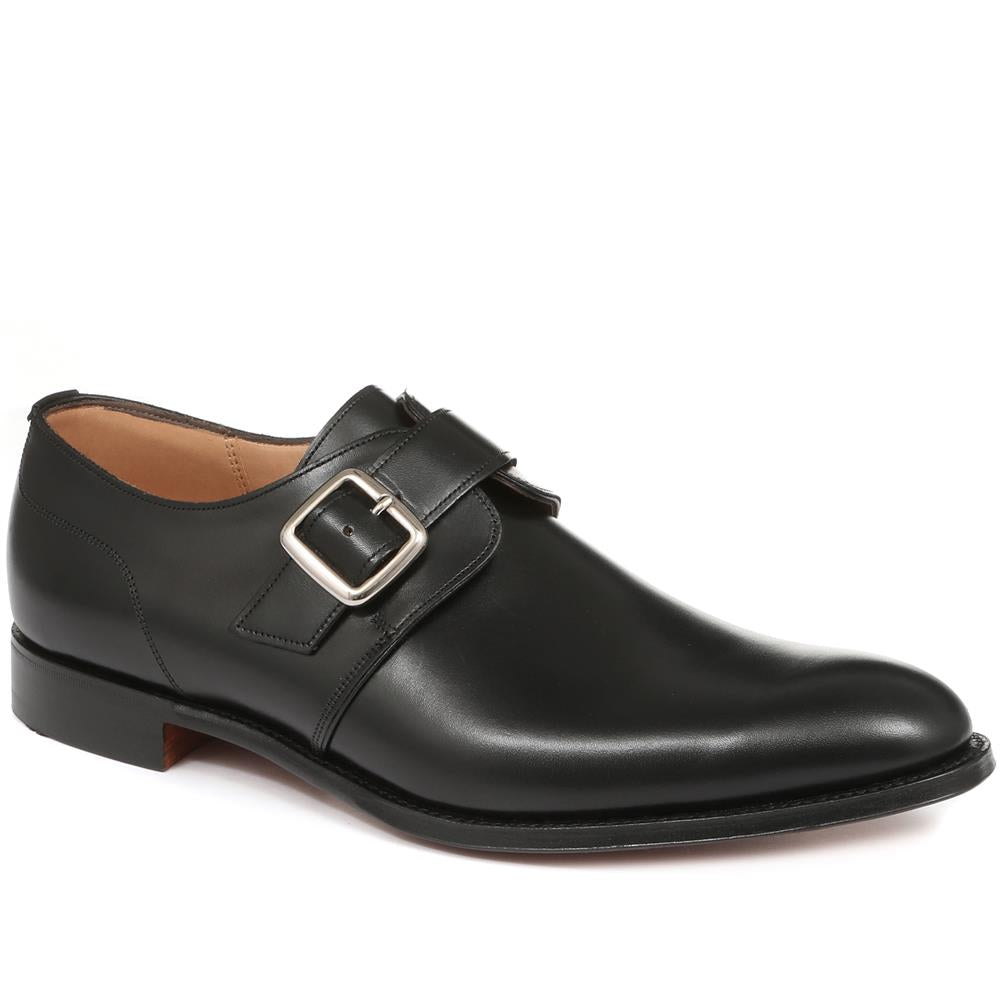 Moorgate Plain Buckle Monk Shoe - MOORGATE / 27112003