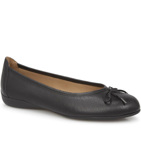 Leather Ballet Flat - GLO28512 / 313 772