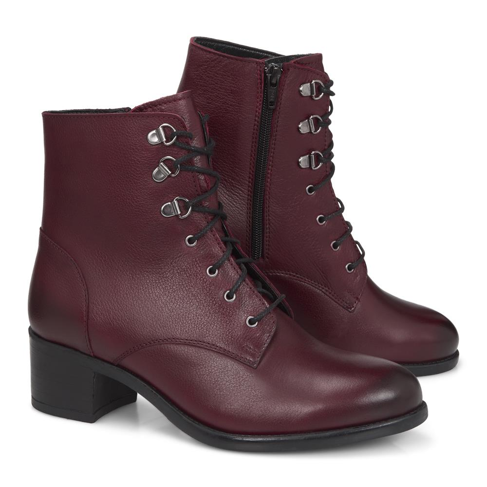 Lace Up Ankle Boot - MKOC28500 / 313 966