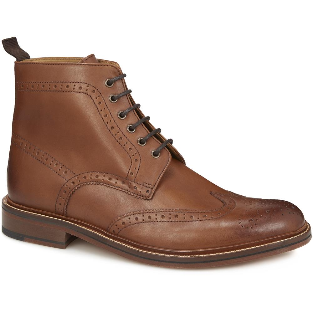 Wing-Tip Brogue Ankle Boot - BAR28501 / 314 327