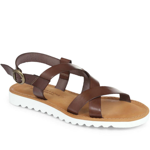 Sandside Leather Sandal - BARBR29506 / 315 706