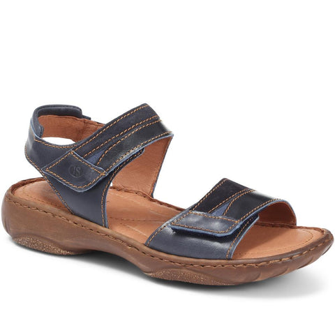 Leather Touch Fastening Sandal - JOSEF29503 / 315 140