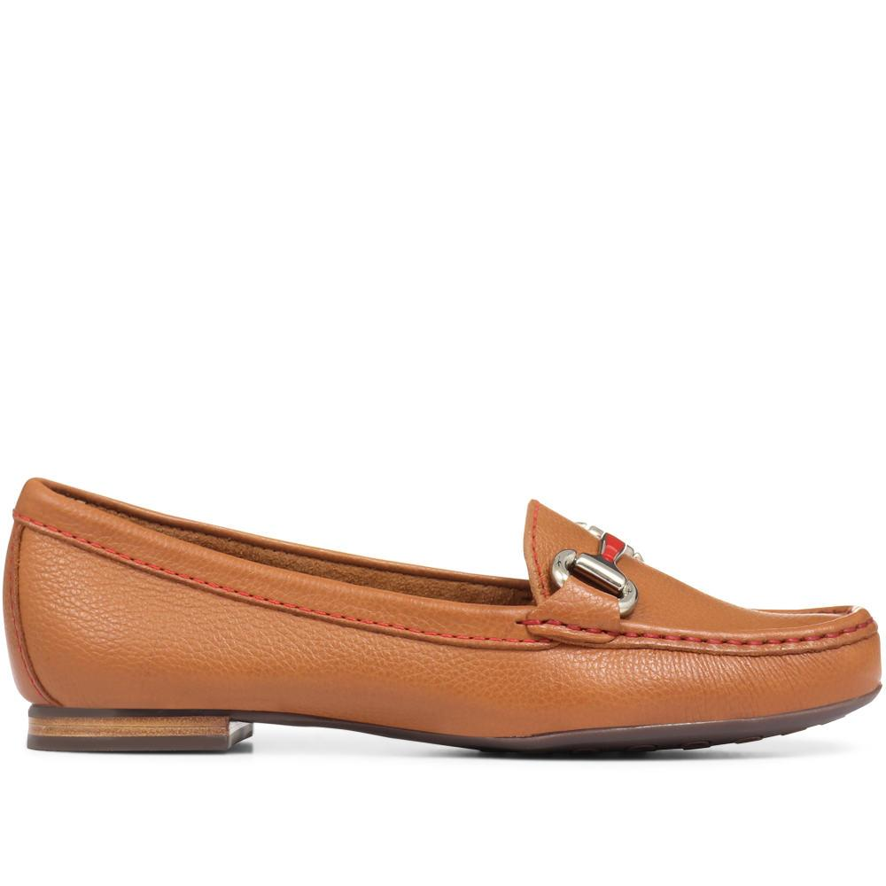 Leather Loafer Moccasin - GLO29509 / 314 610
