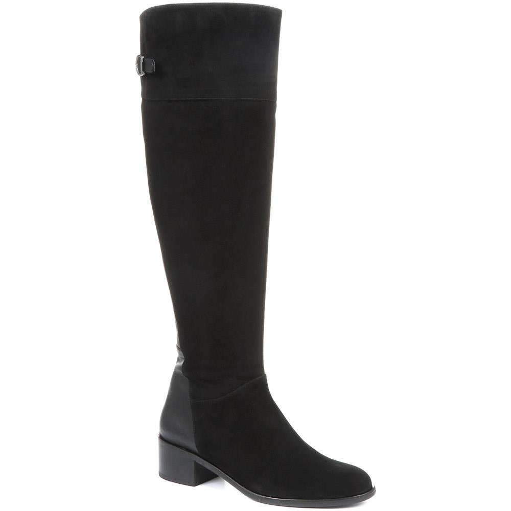 Leather Over-the-Knee Boots - LENZI30500 / 317 139