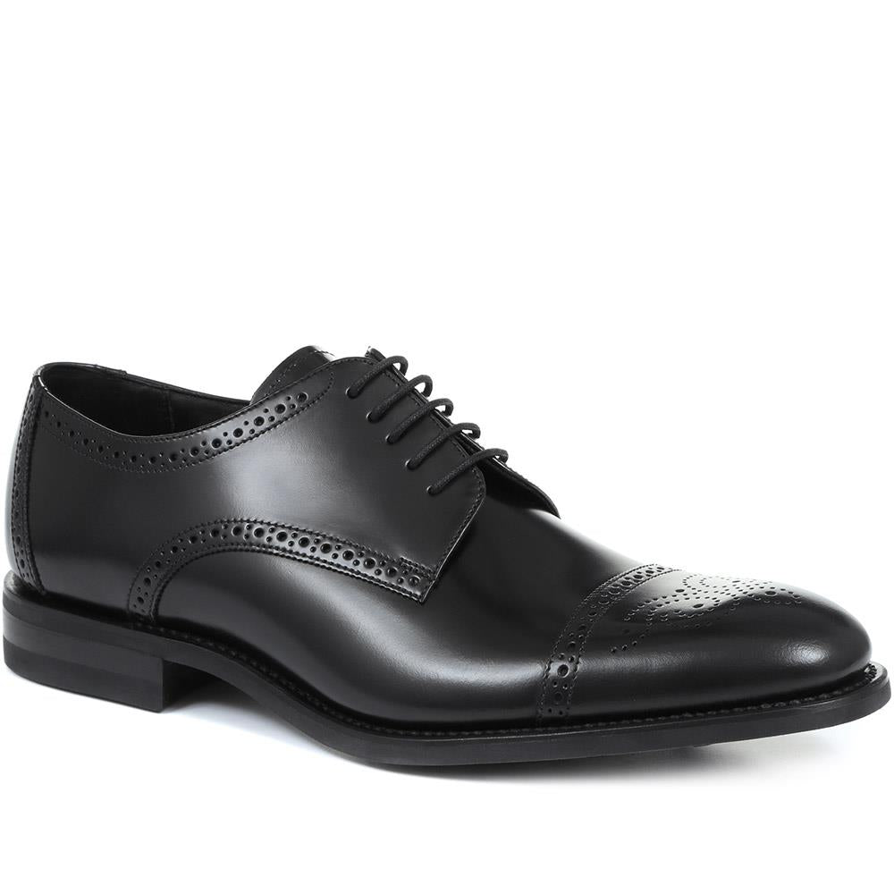 Aztec Goodyear Welted Leather Derby Brogue - LOA31502 / 317 645