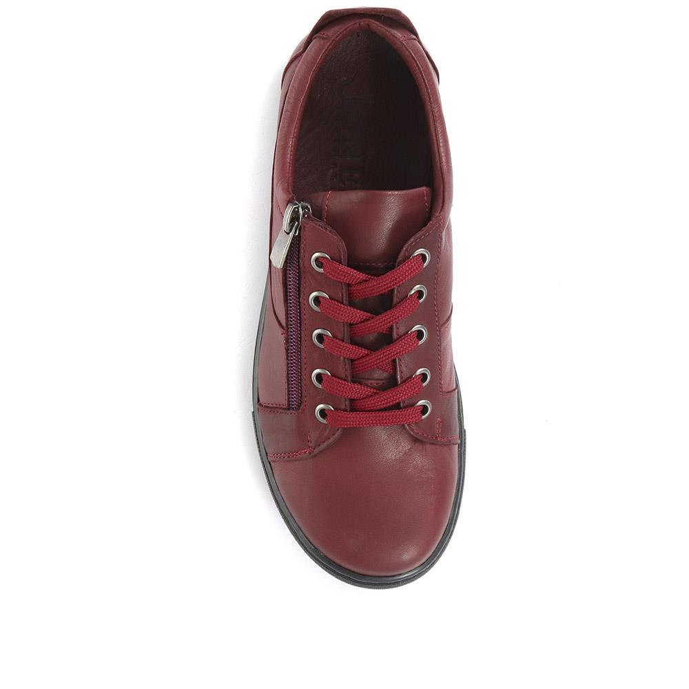 Katarina Leather Lace-Up Trainer - PVR30500 / 317 199