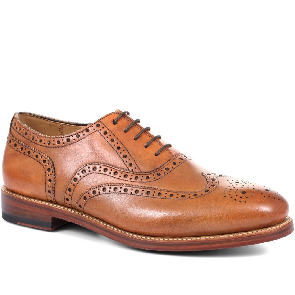 Harry Goodyear Welted Wing-Tip Oxford Brogue - KENM28515 / 315 387