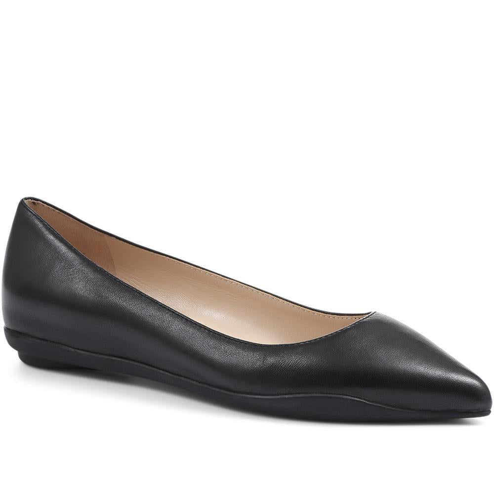 Cassidy Pointed Flat Shoe - CASSIDY / 318 097