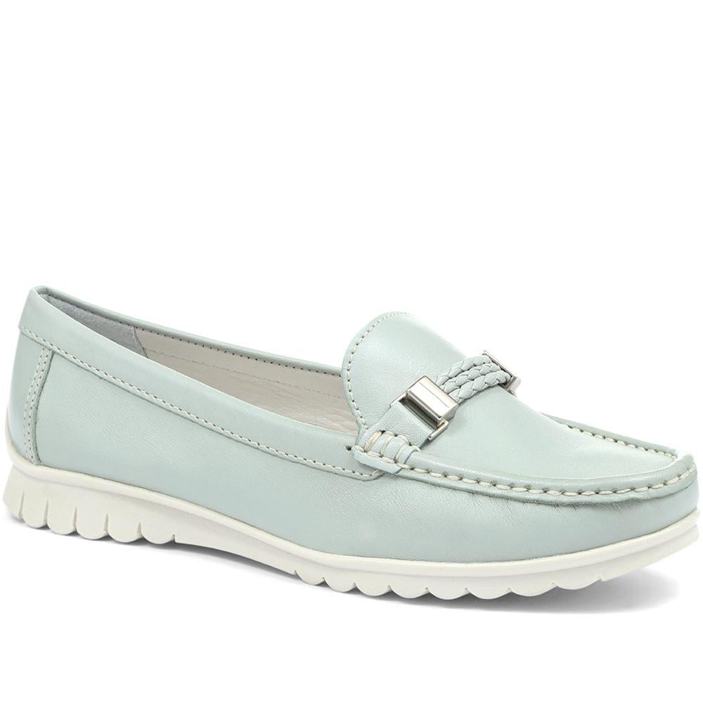 Tess Casual Leather Loafer - TESS / 318 174