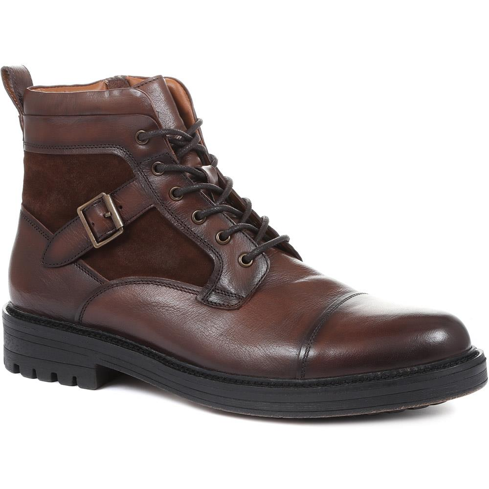 Kyoto Leather Hiker Boots - KYOTO / 319 248