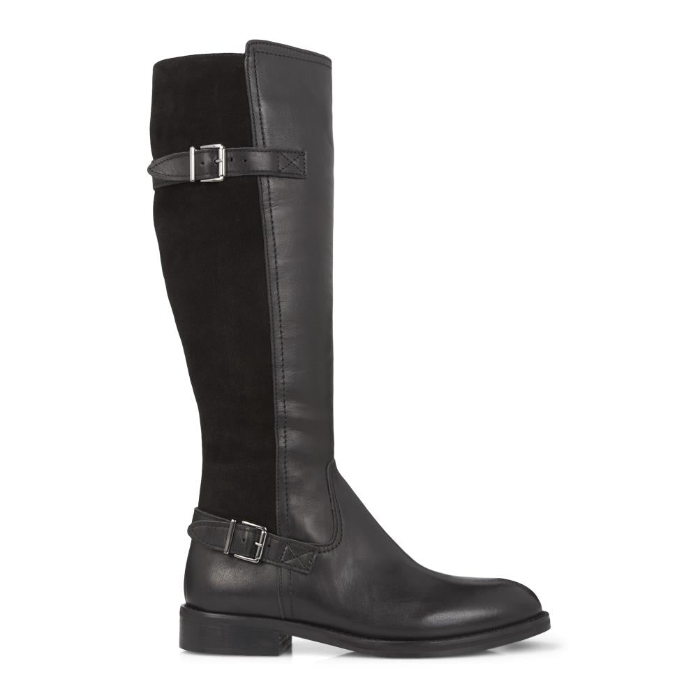Slim Fit Leather Riding Boot - META28509 / 313 918