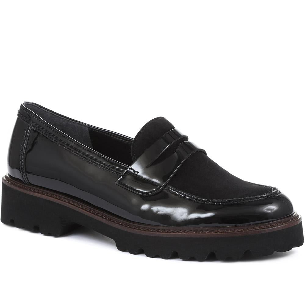 Simone Leather Chunky Loafers - GAB32504 / 319 139