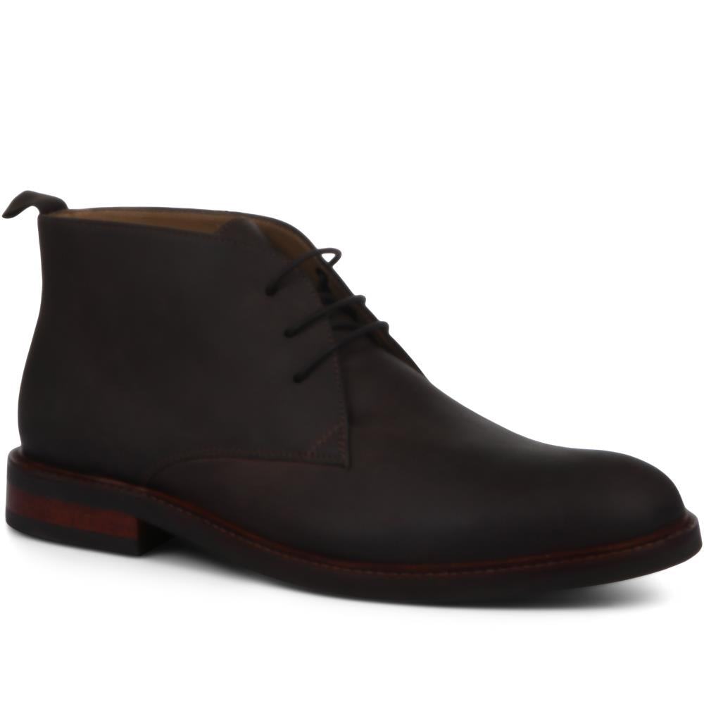 Darwen Leather Chukka Boot - DARWEN / 319 225