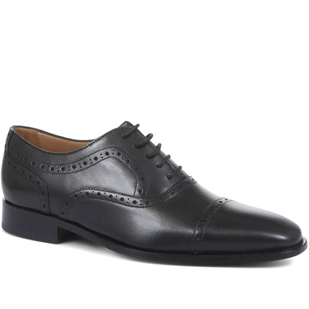 Joseph Leather Oxford Semi-Brogues - JOSEPH / 318 900