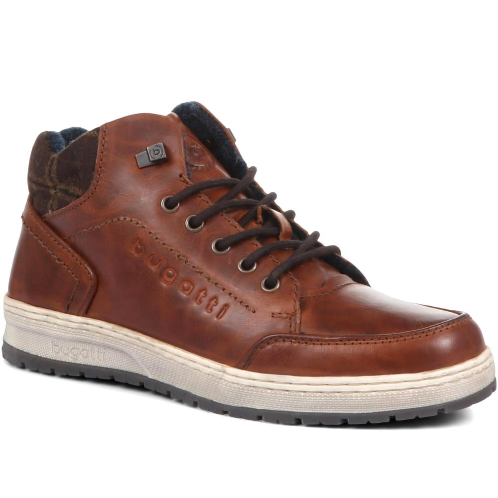 Men's High Top Trainers - BUG32513 / 319 024
