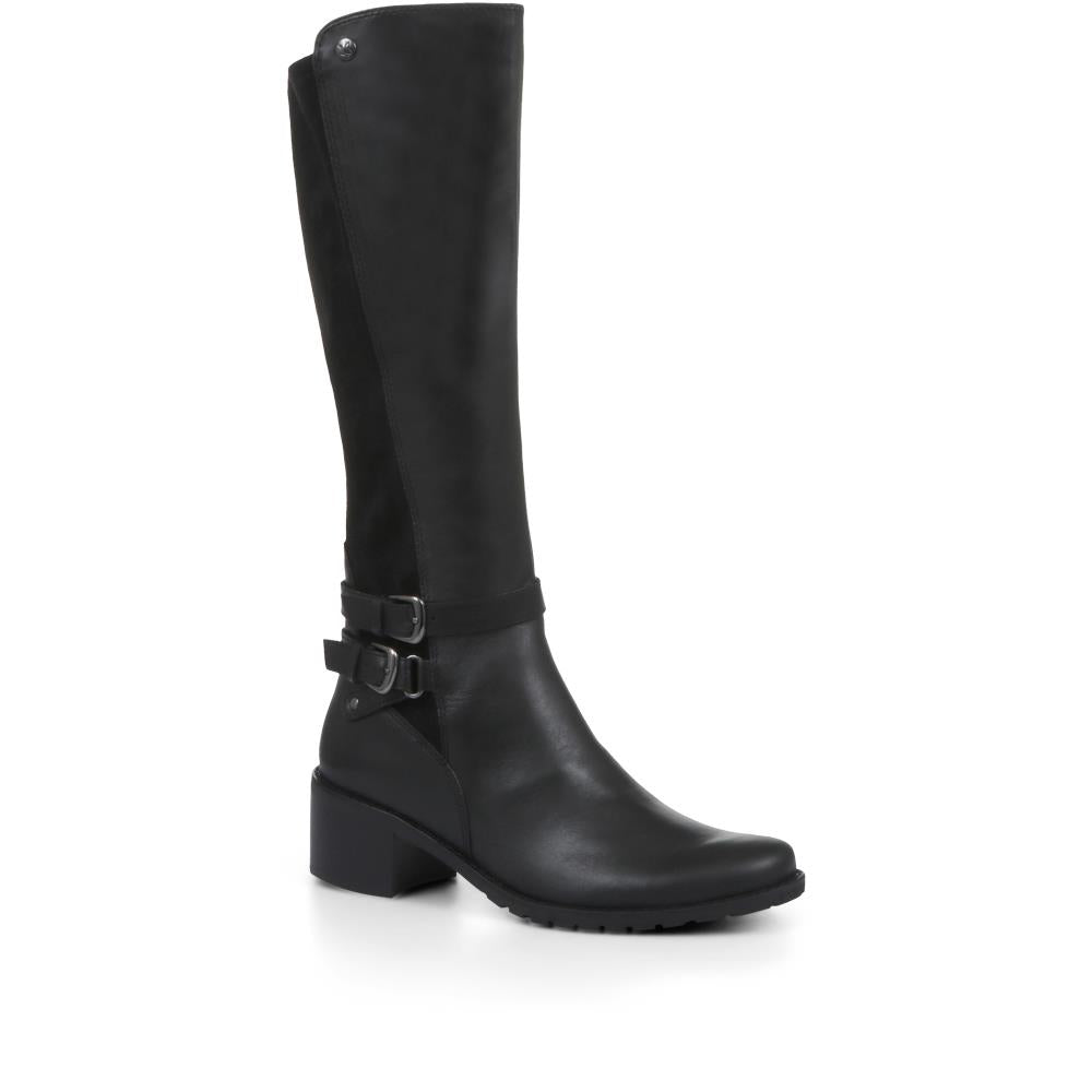 Leather Knee High Boots - CAPRI32513 / 319 779