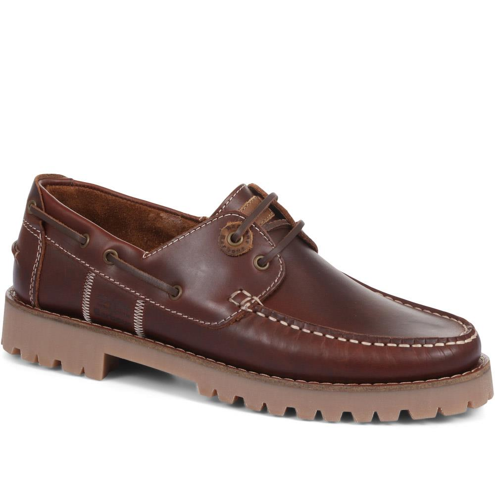 Stern Leather Boat Shoes - BARBR33504