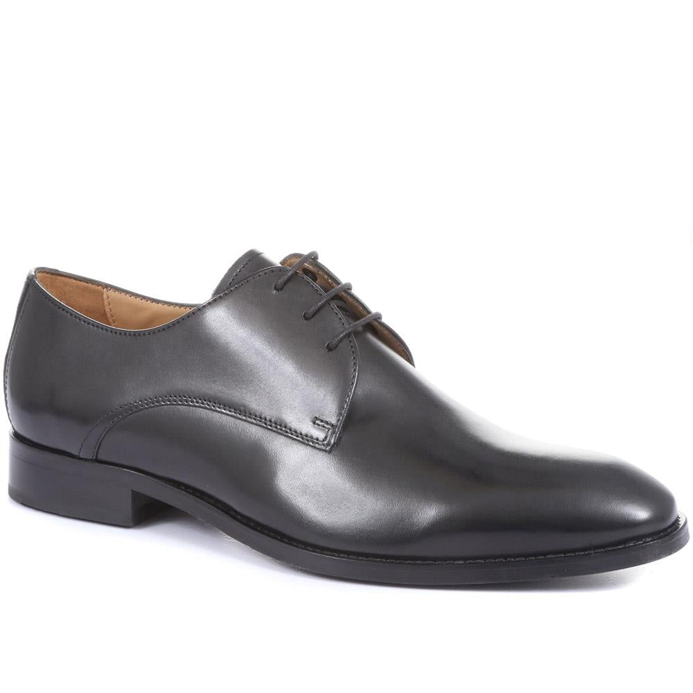 Monument Leather Derby Shoes - MONUMENT / 319 852