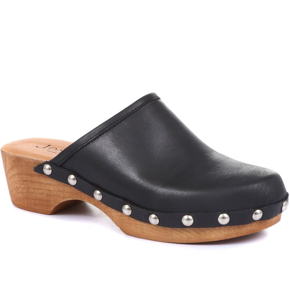 Bronx Leather Clogs - BRONX / 320 263
