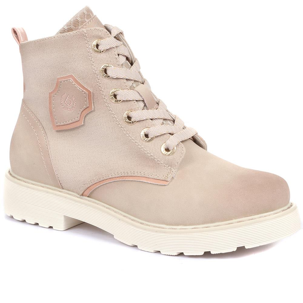 Lace-Up Ankle Boots - BUG33515 / 319 670